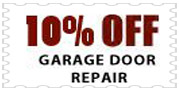 Garage Door Repair Coupon